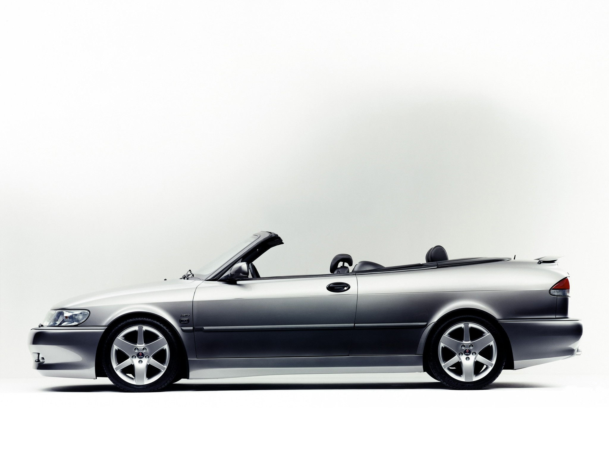 SAAB 9-3 Aero Convertible specs & photos - 1999, 2000, 2001