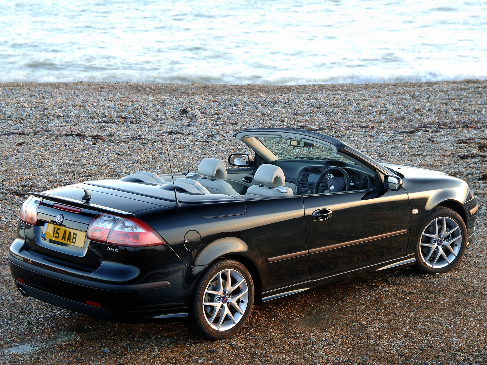 SAAB 9-3 Aero Convertible specs & photos - 2003, 2004, 2005