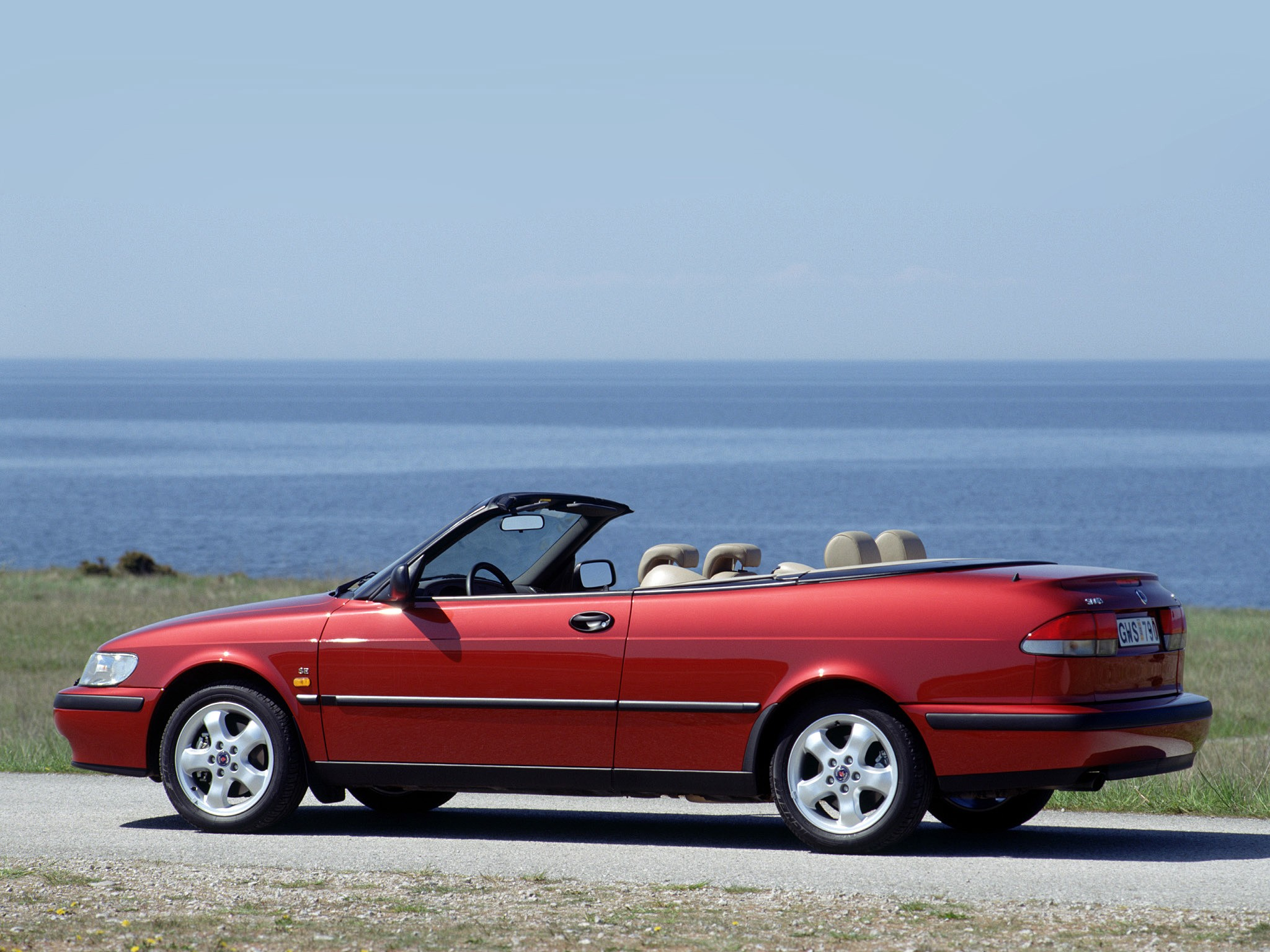 Saab Convertible on 2000 Saab 9 3 Convertible