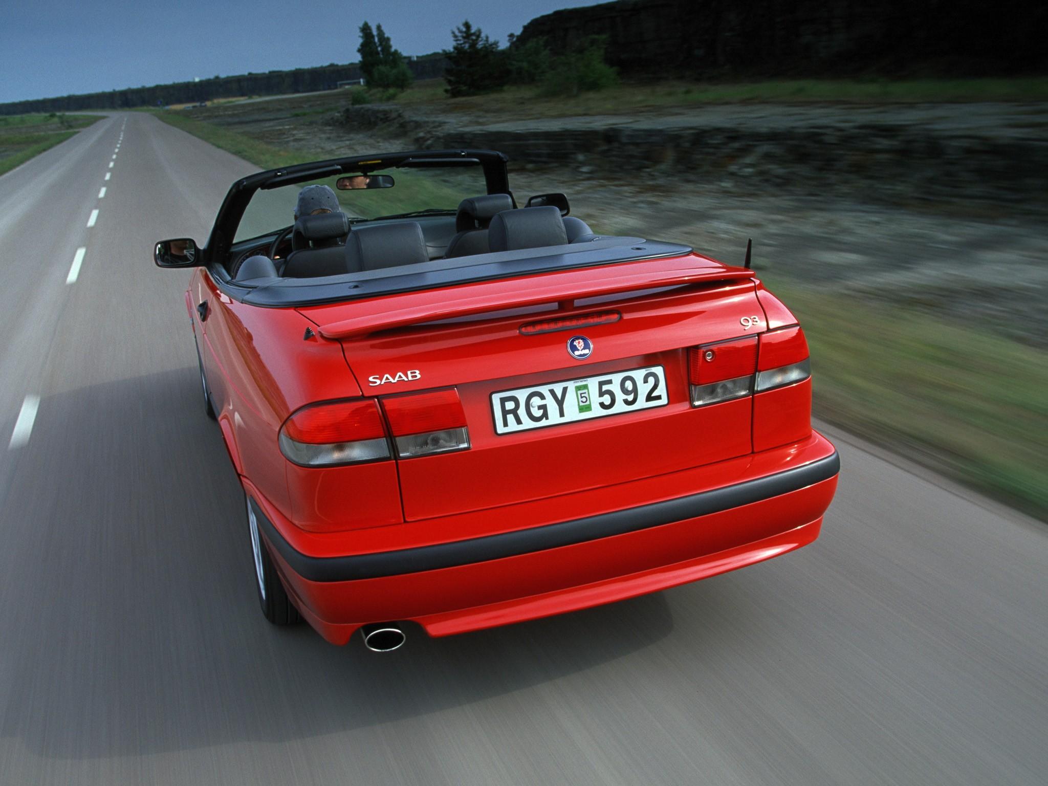 1998 saab 9 3 convertible review