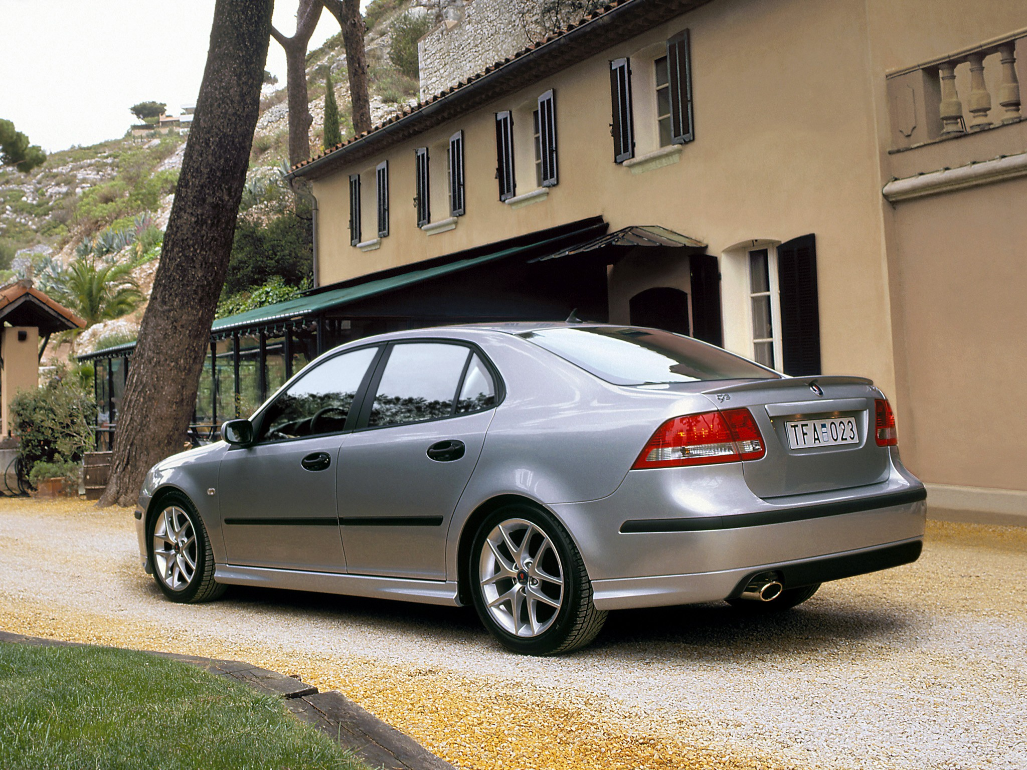 SAAB 9 3 Sport Sedan Aero 2003