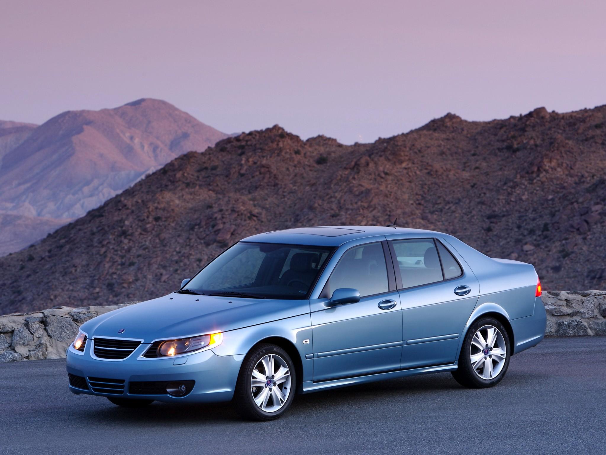 Saab on 2008 Saab 9 5