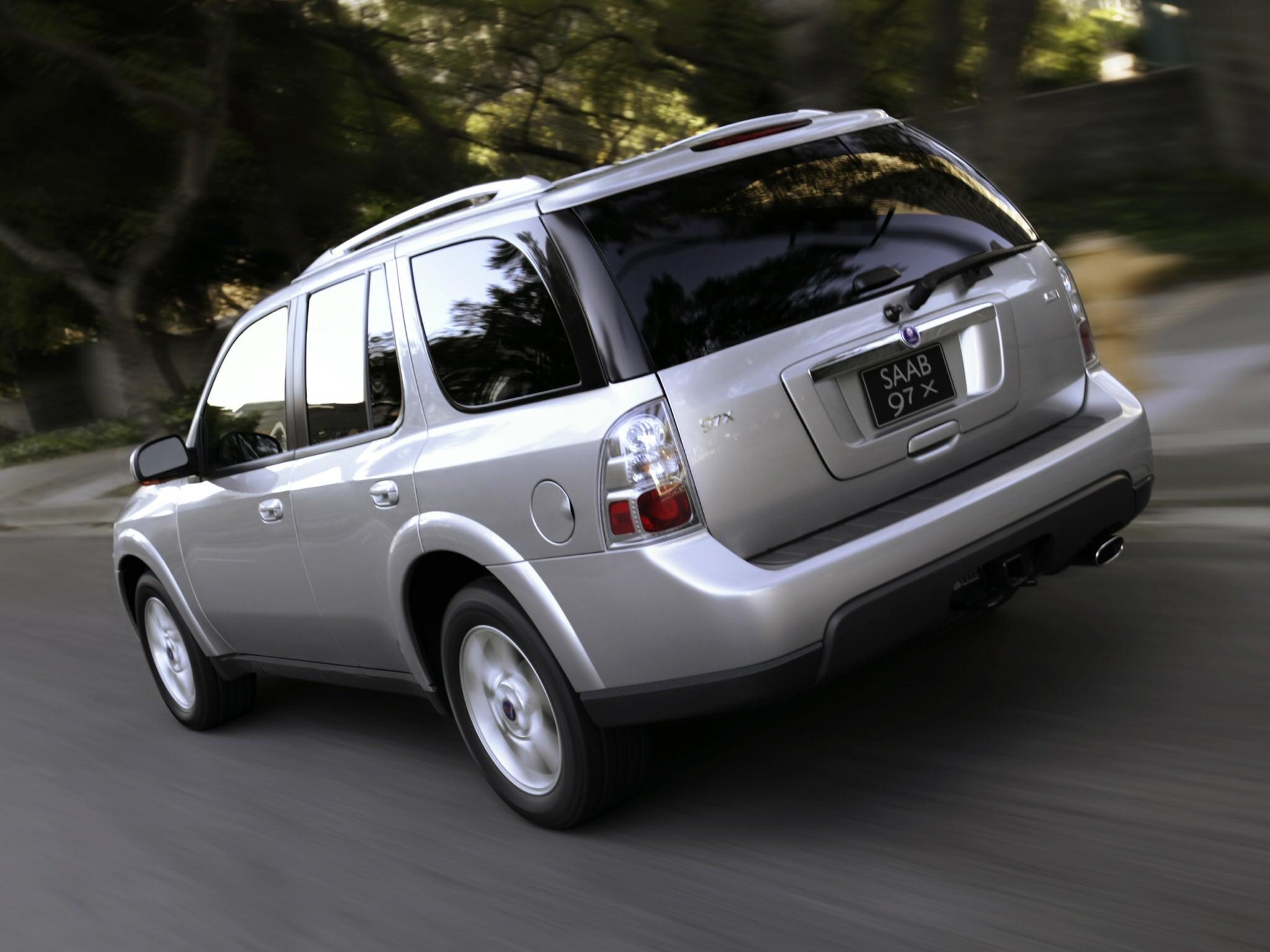 Saab X on 2007 Gmc Envoy