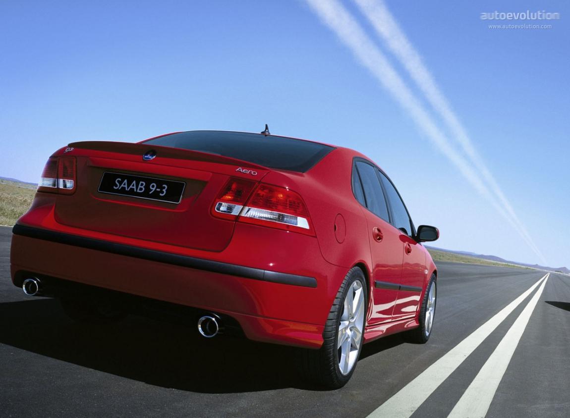 SAAB 9-3 Sport Sedan Aero specs - 2003, 2004, 2005, 2006 ...