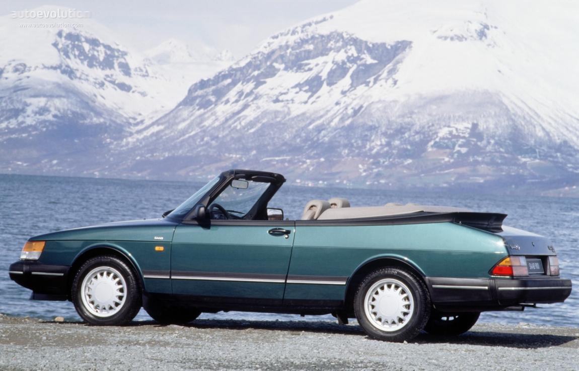 Saab 900 Cabrio 1986 1994