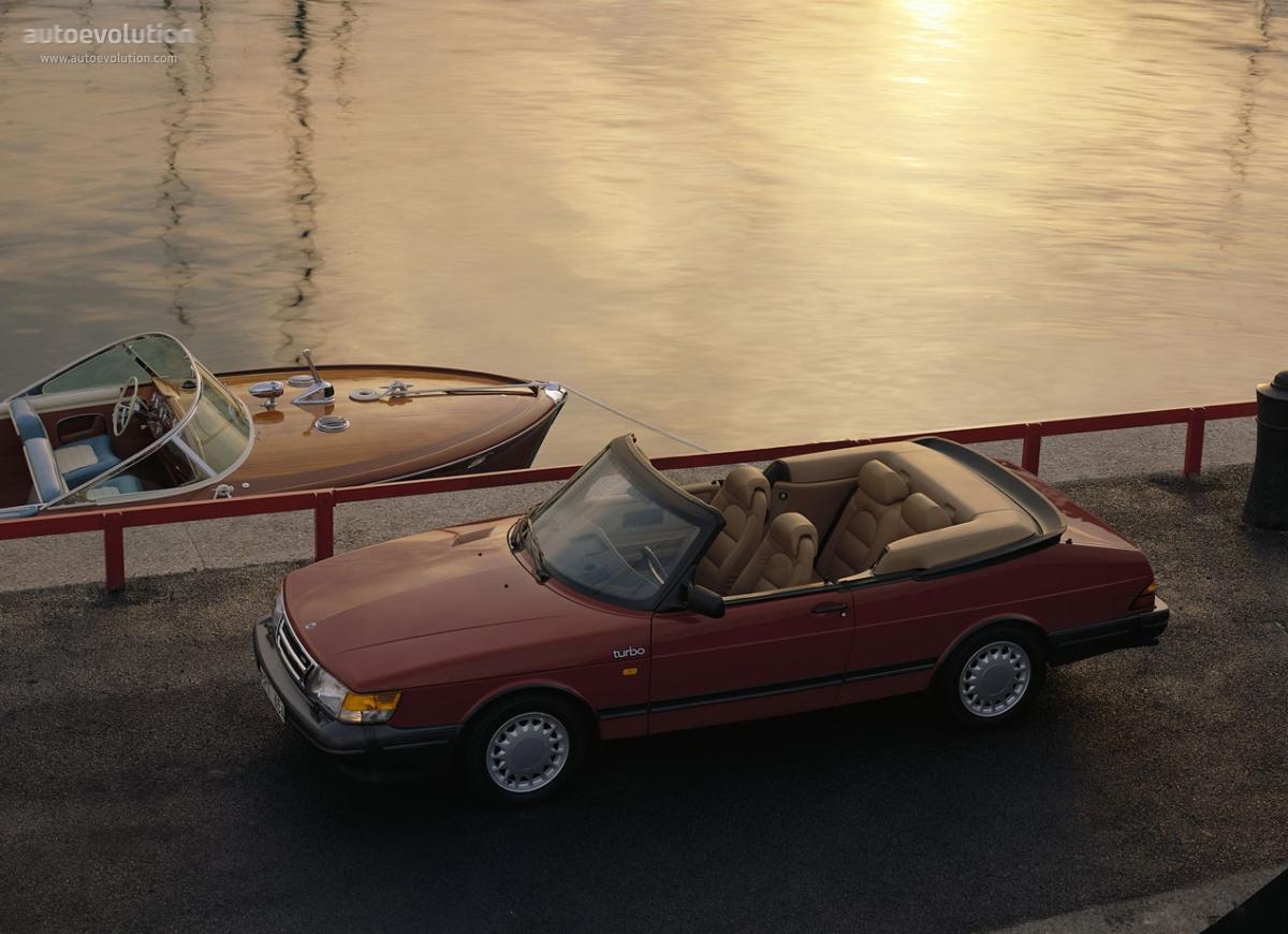 SAAB 900 Cabrio specs  1986 1987 1988 1989 1990 1991 1992