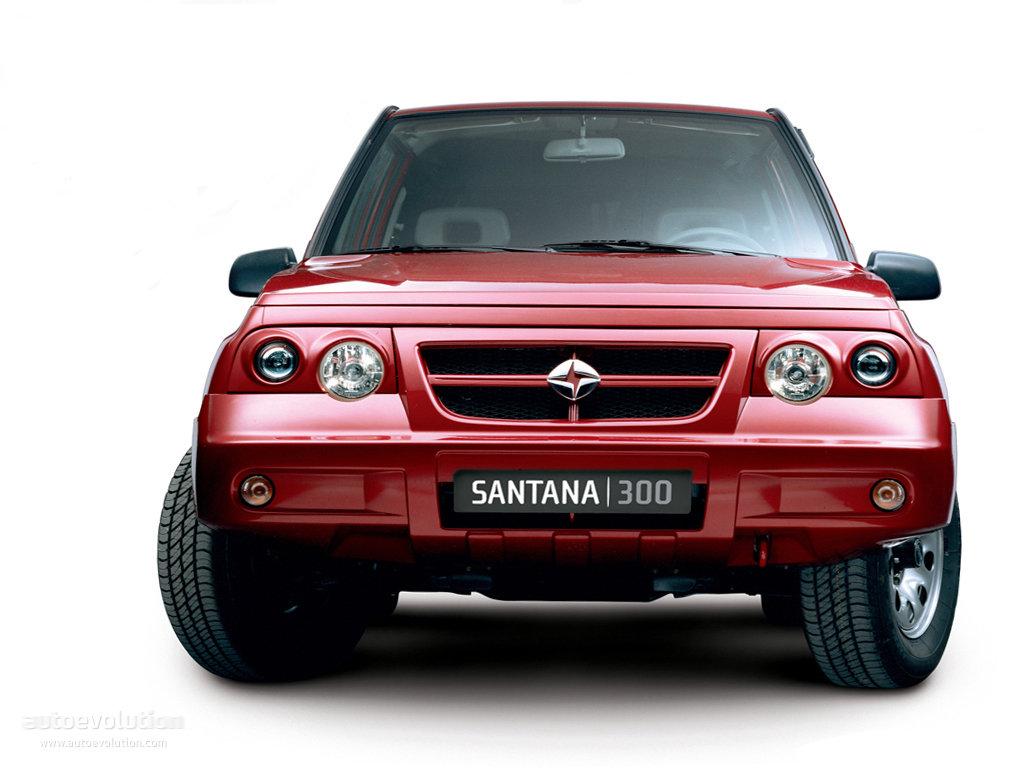 SANTANA 300 - 350 specs - 2005, 2006, 2007, 2008, 2009, 2010, 2011, 2012, 2013, 2014, 2015, 2016 ...