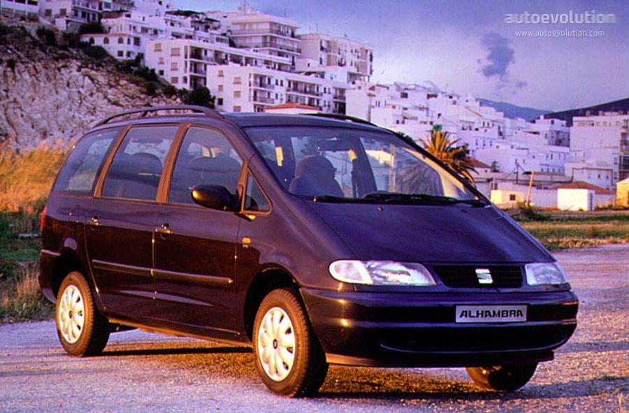 Seat Alhambra 1996 1997 1998 1999 2000 Autoevolution