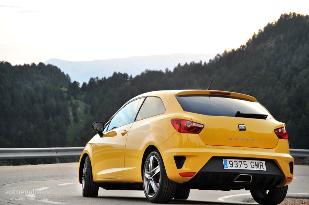seat ibiza cupra specs 2009 2010 2011 2012 autoevolution. Black Bedroom Furniture Sets. Home Design Ideas