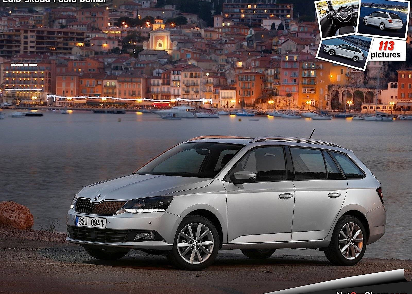 skoda fabia combi 2014 2015 2016 autoevolution. Black Bedroom Furniture Sets. Home Design Ideas