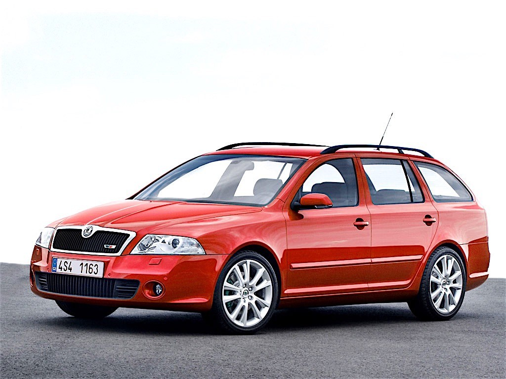 skoda octavia ii combi rs specs photos 2005 2006 2007 2008 autoevolution. Black Bedroom Furniture Sets. Home Design Ideas