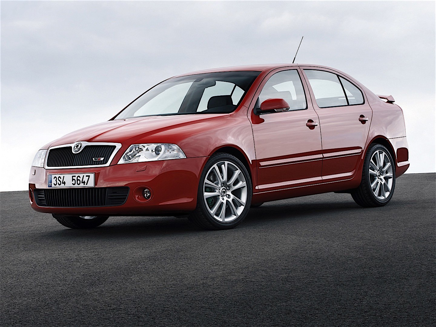 skoda octavia ii rs specs photos 2005 2006 2007 2008 autoevolution. Black Bedroom Furniture Sets. Home Design Ideas