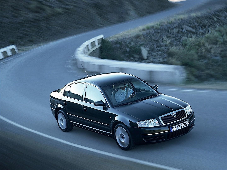Skoda Superb 2002 2003 2004 2005 2006 Autoevolution
