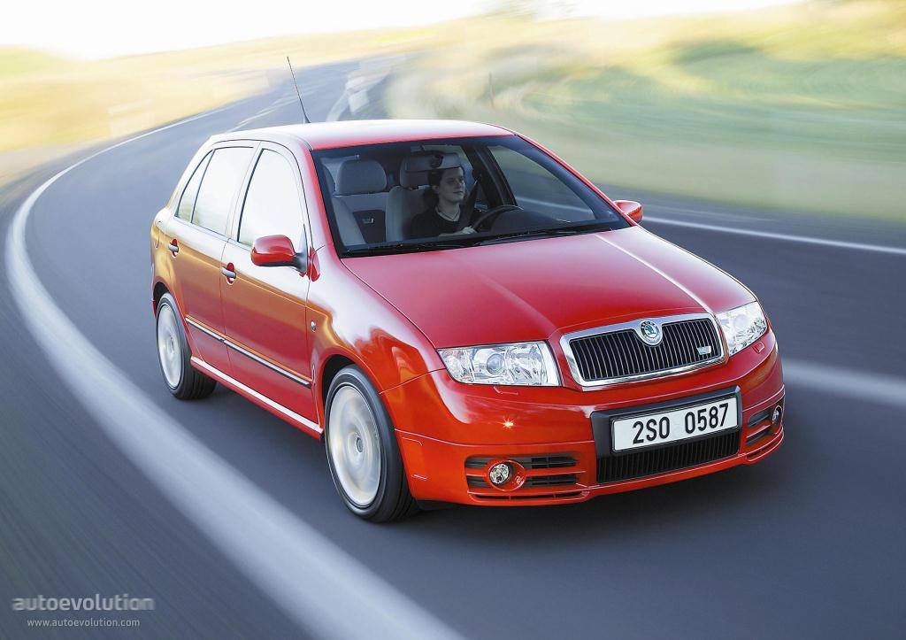 Skoda Fabia Rs Specs Photos 2003 2004 2005 2006 2007