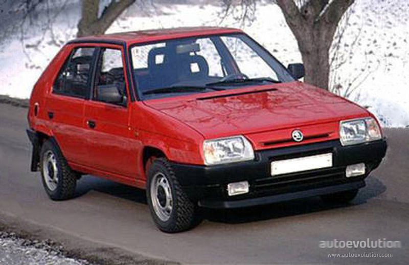 Skoda Favorit 1989 1990 1991 1992 1993 1994 1995