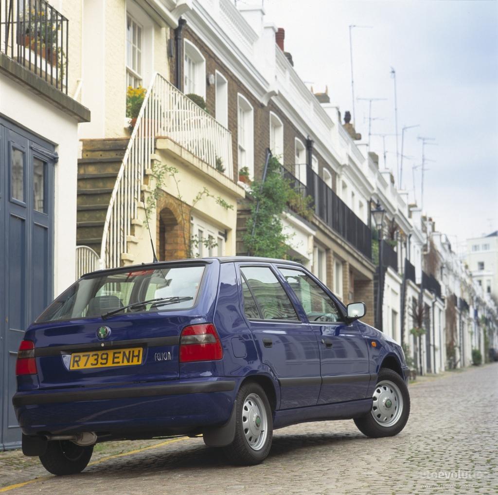 skoda felicia 1995 2001