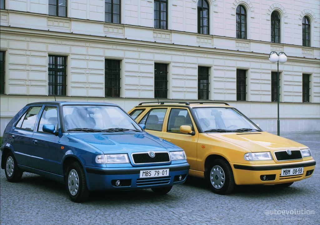 SKODA Felicia Combi specs & photos - 1995, 1996, 1997 ...