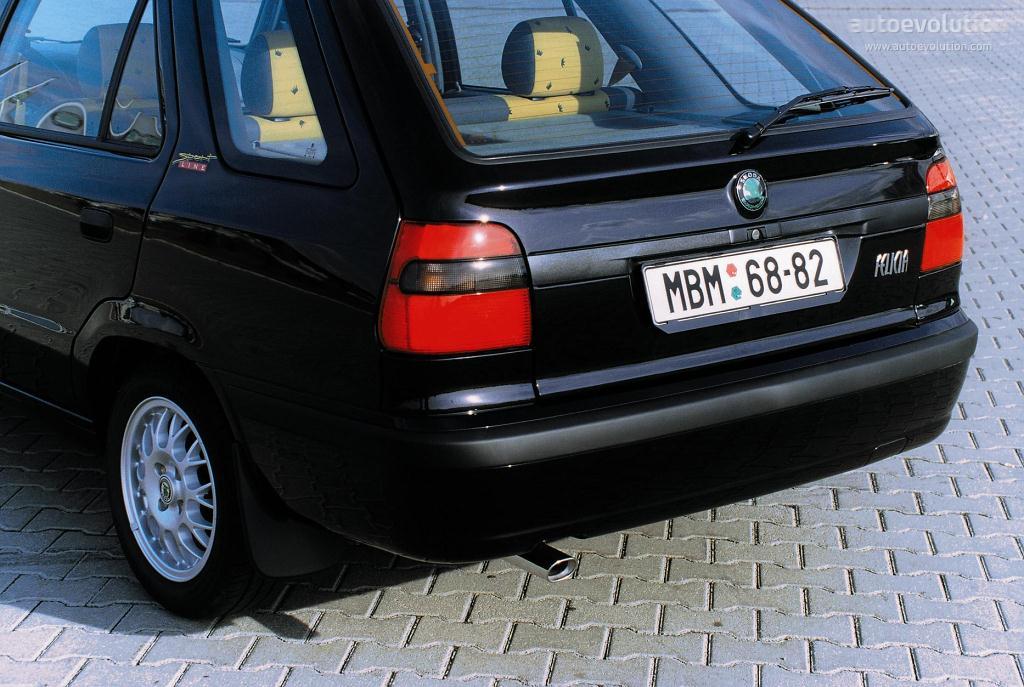 Skoda Felicia Combi 1995 1996 1997 1998 1999 2000
