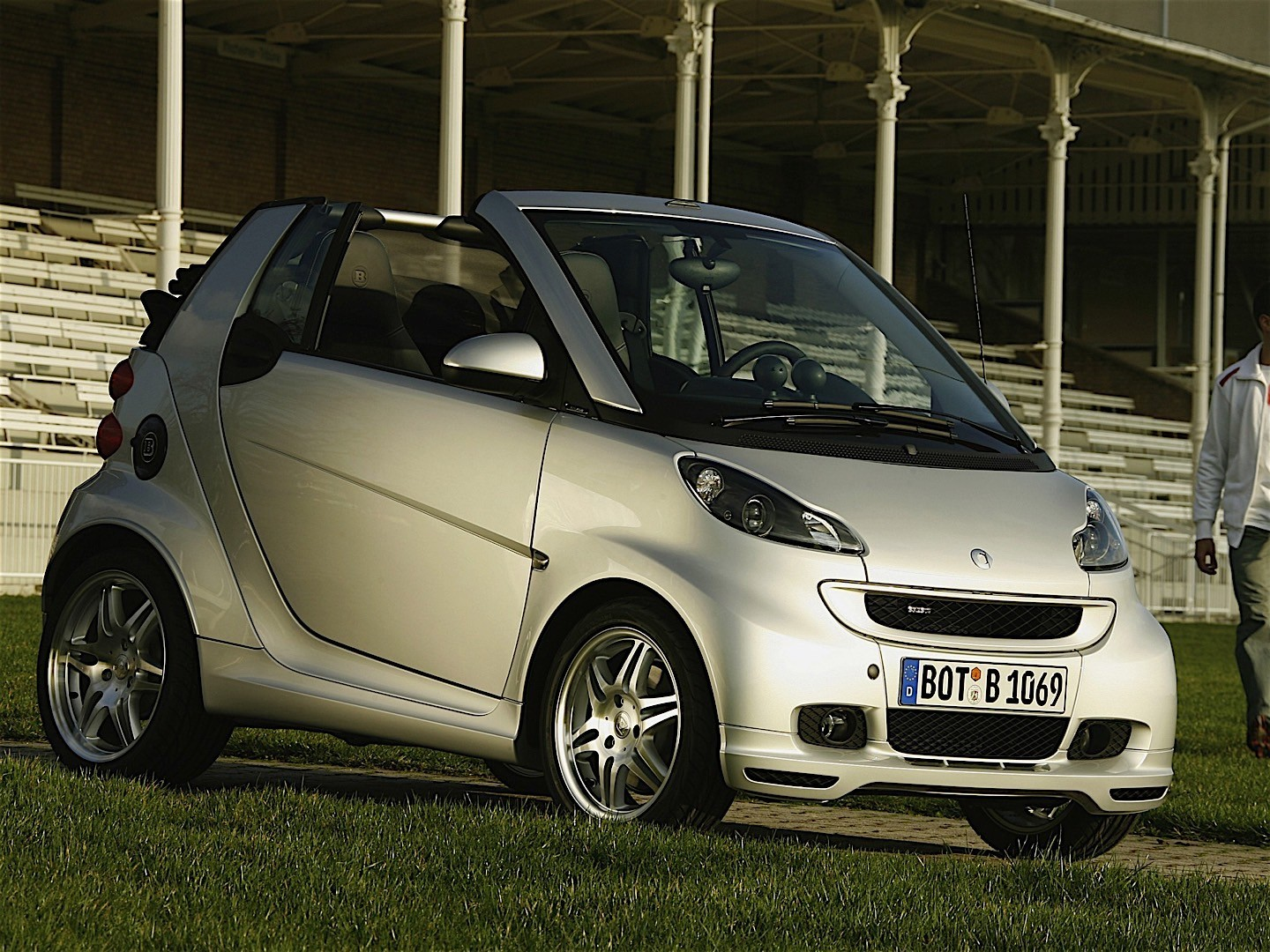 smart fortwo cabrio brabus specs photos 2007 2008. Black Bedroom Furniture Sets. Home Design Ideas