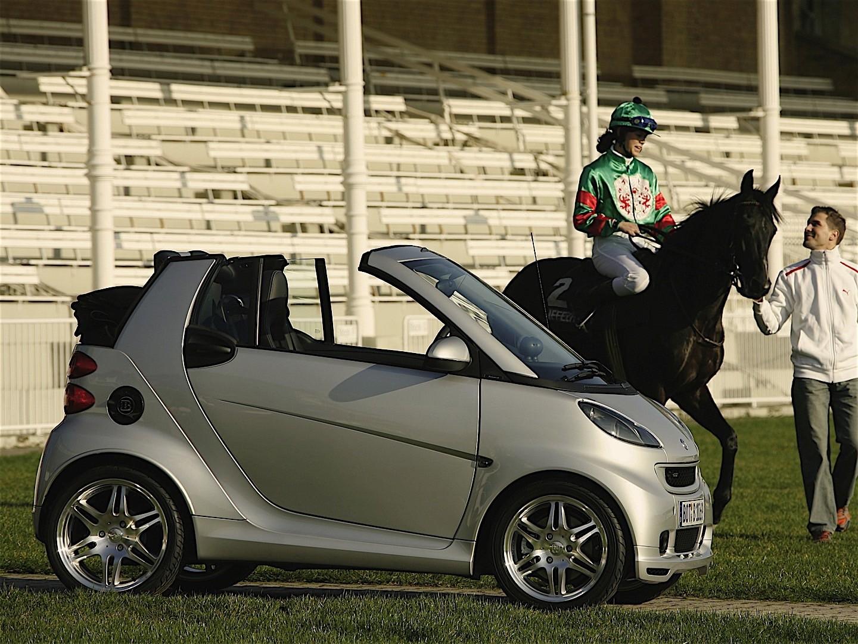 smart fortwo cabrio brabus 2007 2012