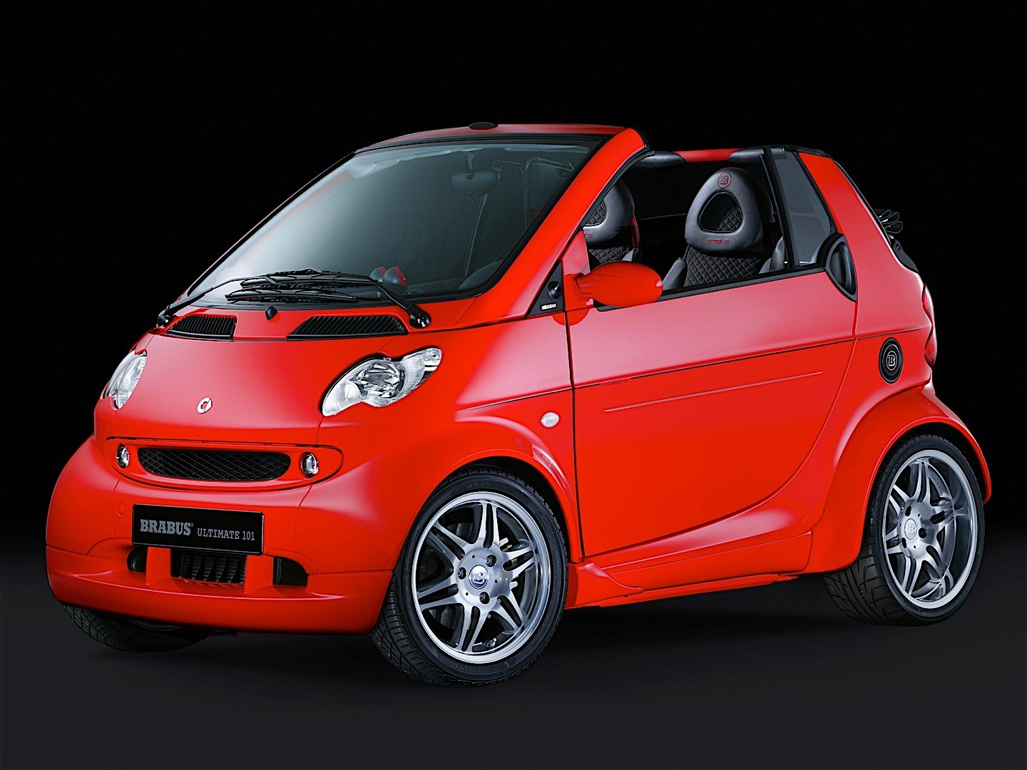 smart fortwo cabrio brabus specs photos 2003 2004. Black Bedroom Furniture Sets. Home Design Ideas