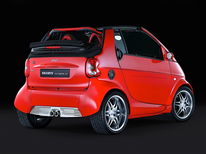 smart fortwo cabrio brabus 2003 2004 2005 2006 2007. Black Bedroom Furniture Sets. Home Design Ideas