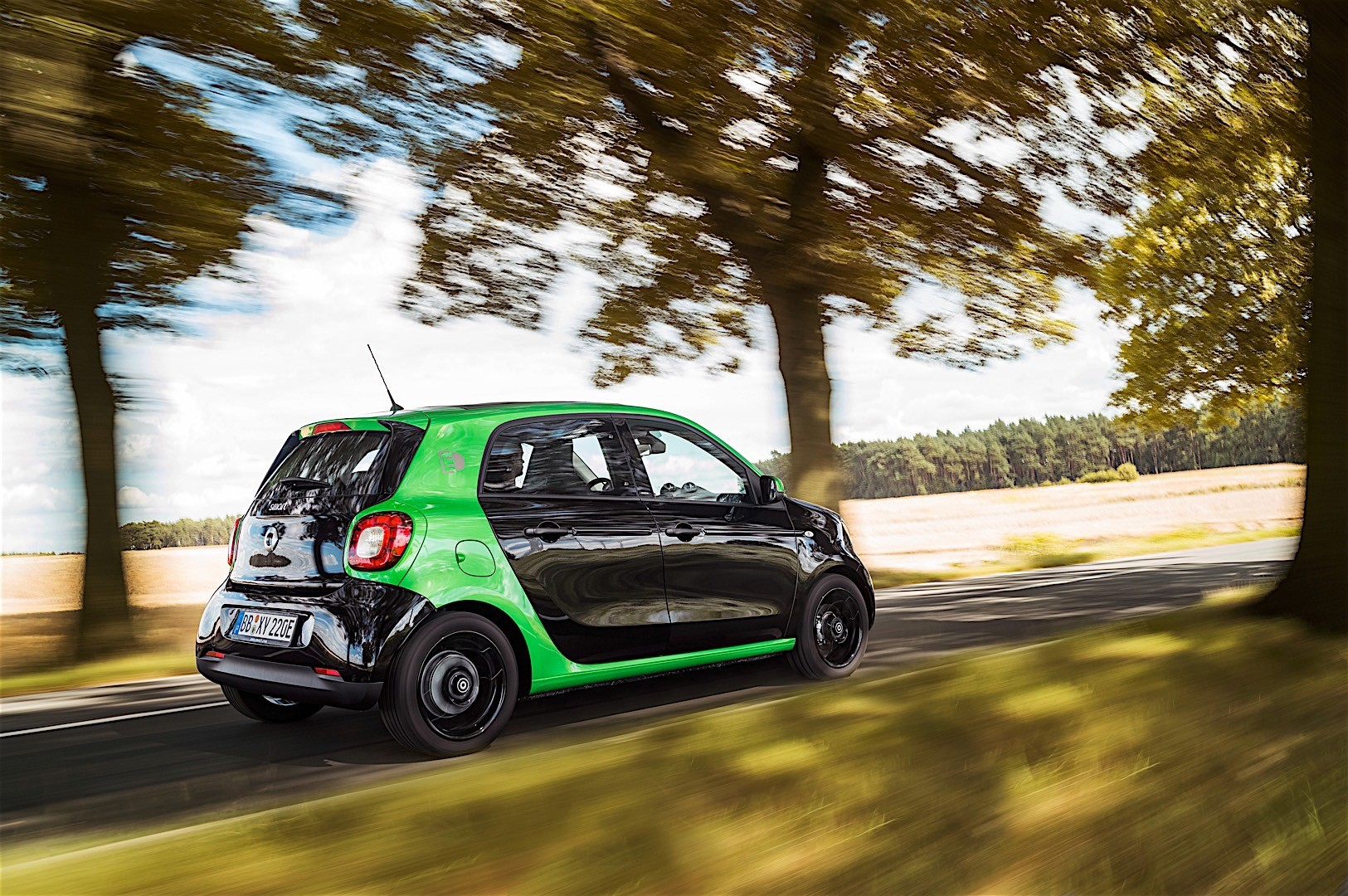 Smart Forfour Electric Drive 2016 Present
