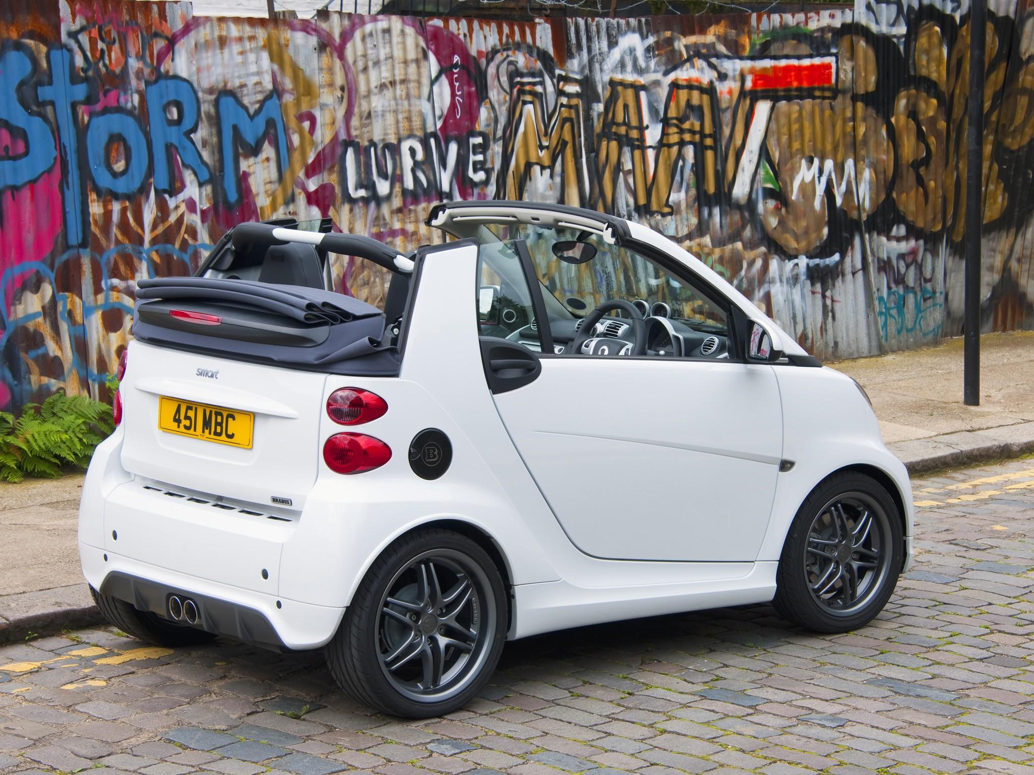 Smart Fortwo Cabrio Brabus 2012 2013 2014 2015 2016