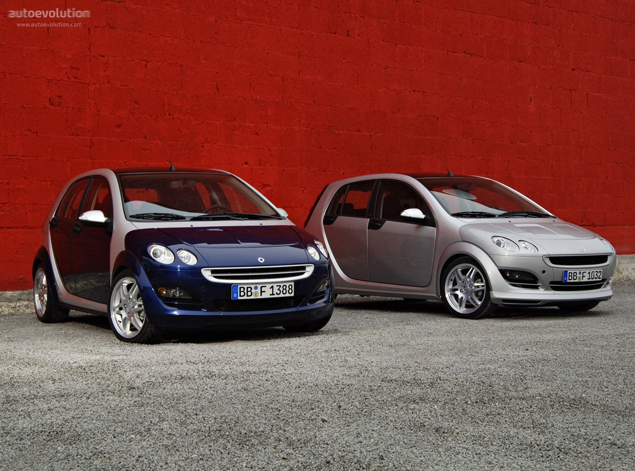 smart forfour brabus specs photos 2005 2006 autoevolution. Black Bedroom Furniture Sets. Home Design Ideas