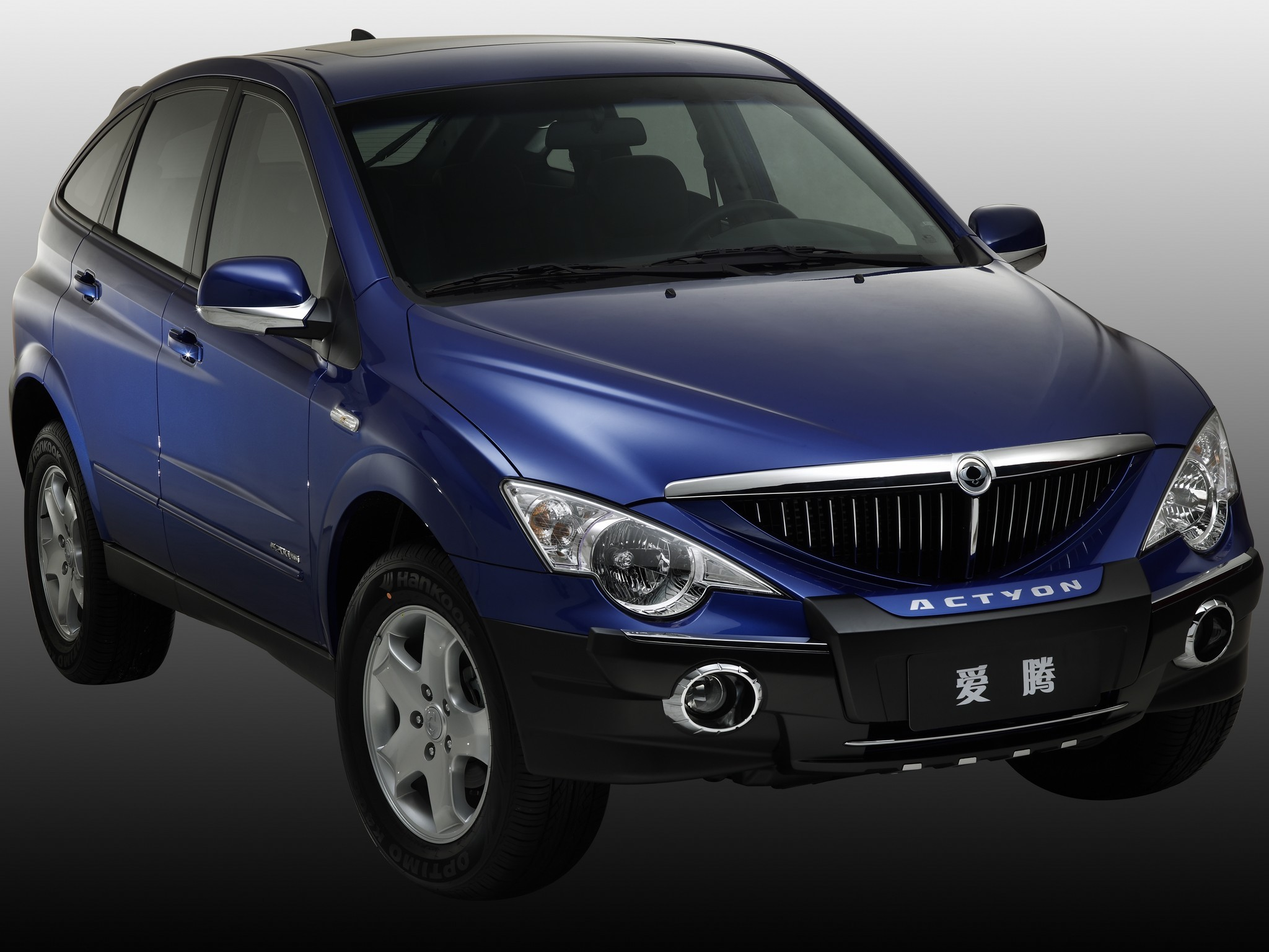 Make A Car >> SSANGYONG Actyon specs & photos - 2006, 2007, 2008, 2009 ...