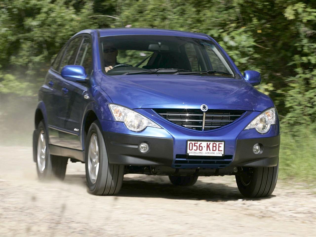 Fuel Efficient Suv >> SSANGYONG Actyon specs & photos - 2006, 2007, 2008, 2009, 2010, 2011 - autoevolution