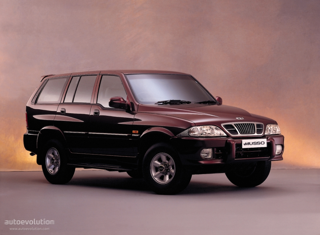 Ssangyong Musso 1998 on gmc v6 engine