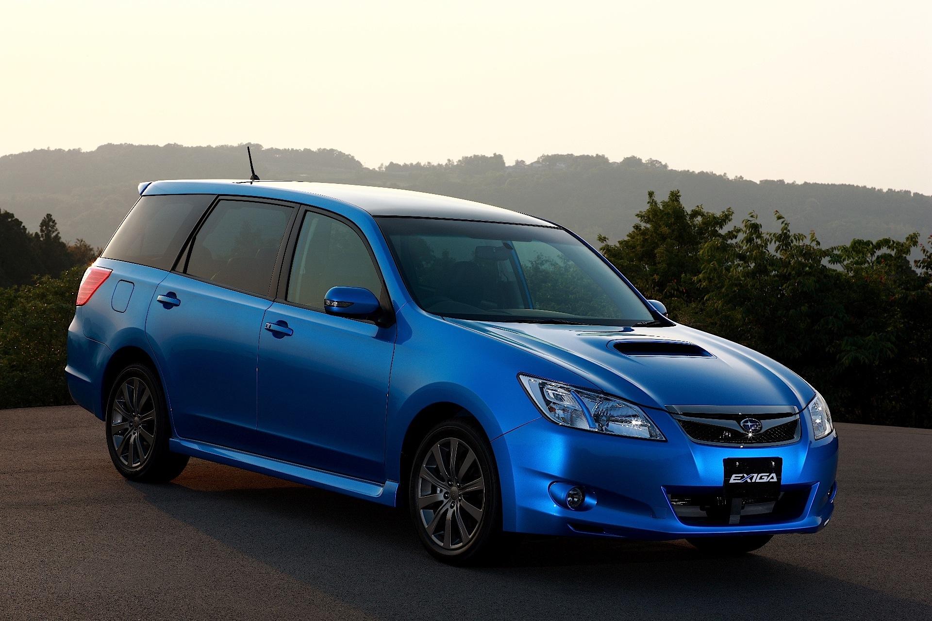 How To Drive A Manual Car >> SUBARU Exiga specs - 2008, 2009, 2010, 2011, 2012, 2013, 2014, 2015, 2016, 2017, 2018 ...