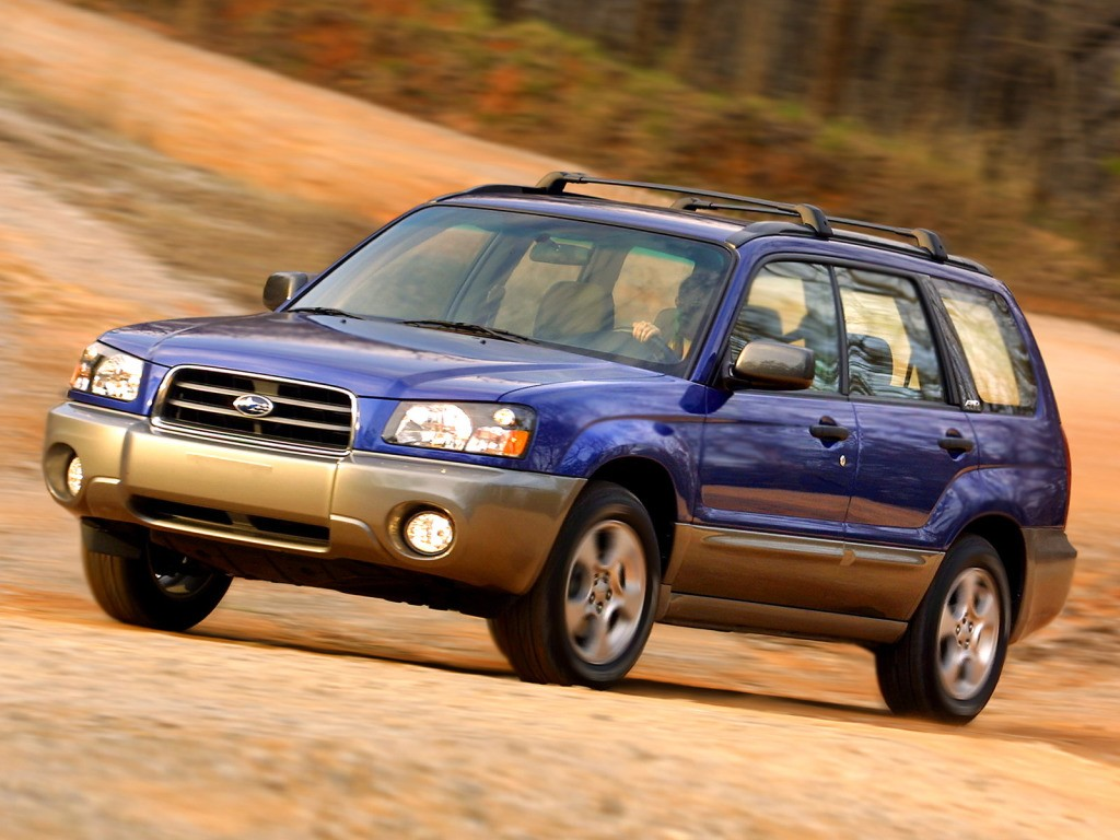SUBARU Forester specs & photos - 2002, 2003, 2004, 2005 ...