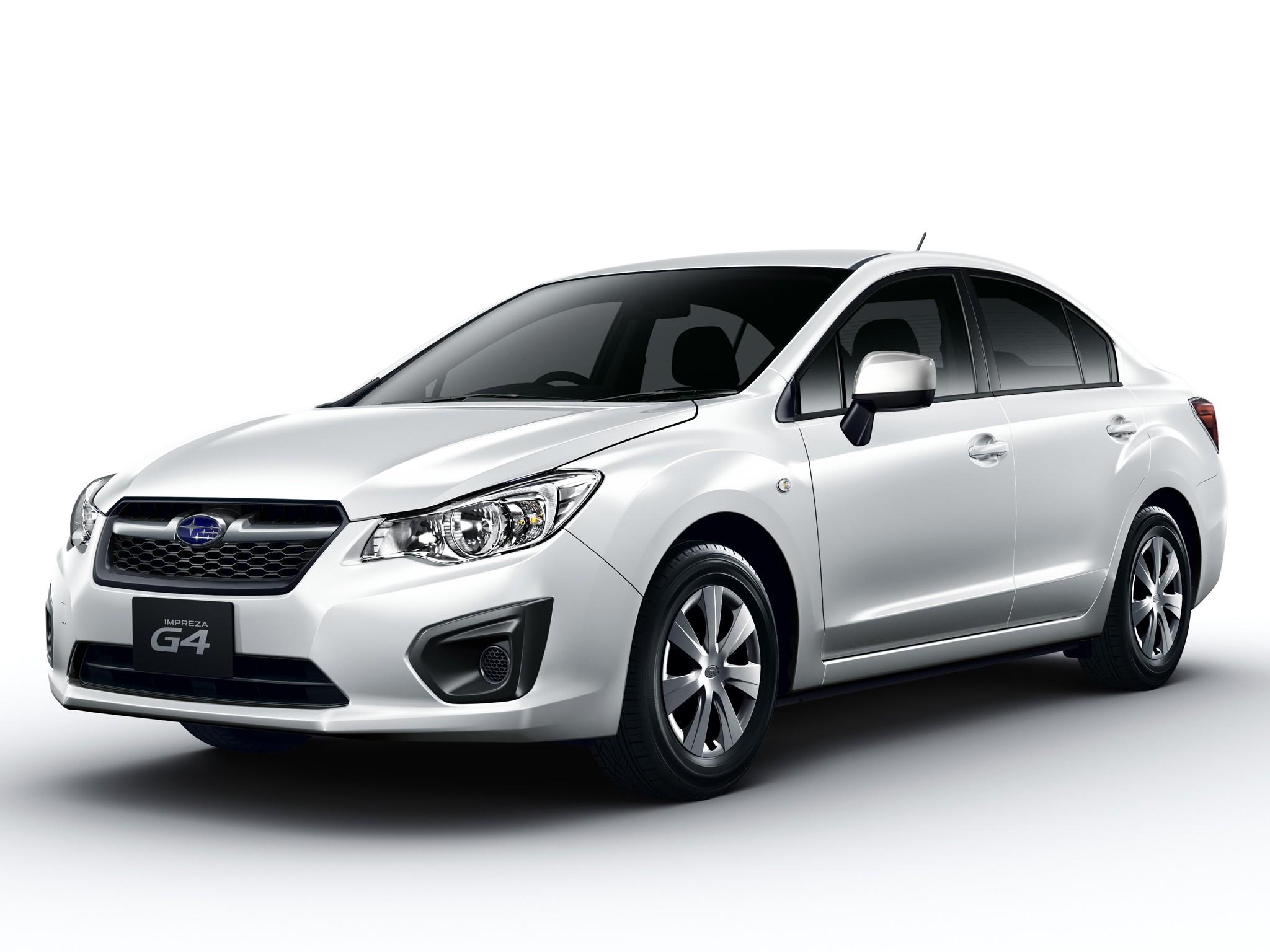 Subaru Impreza 4 Doors 2012 2013 2014 2015 2016