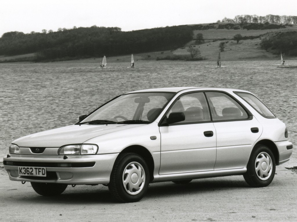 1994 subaru impreza specs