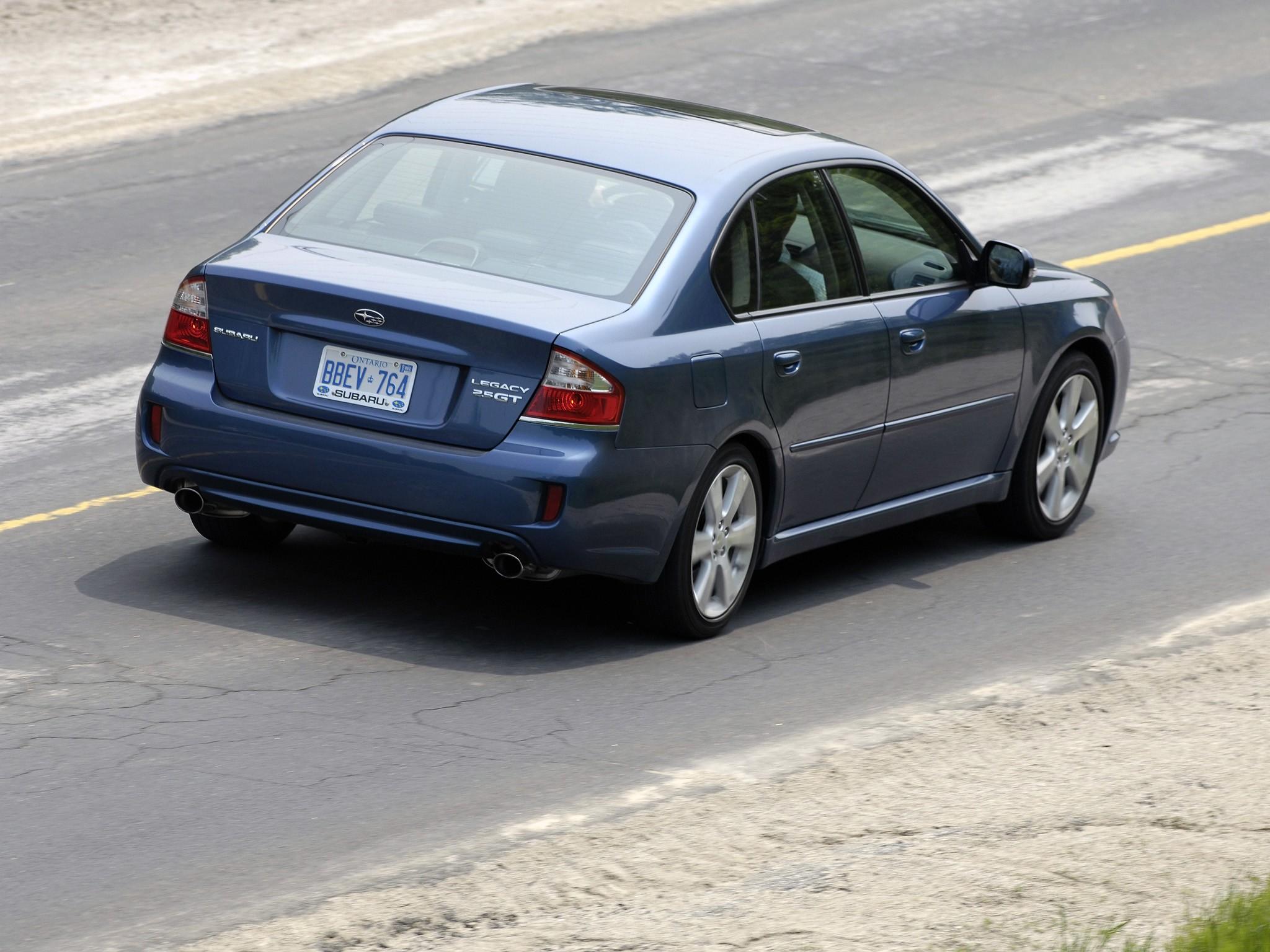 SUBARU Legacy specs - 2008, 2009 - autoevolution