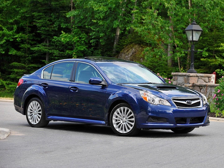 SUBARU Legacy Sedan B4 specs & photos - 2009, 2010, 2011 ...