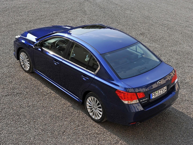 subaru legacy sedan b4 2009 2014