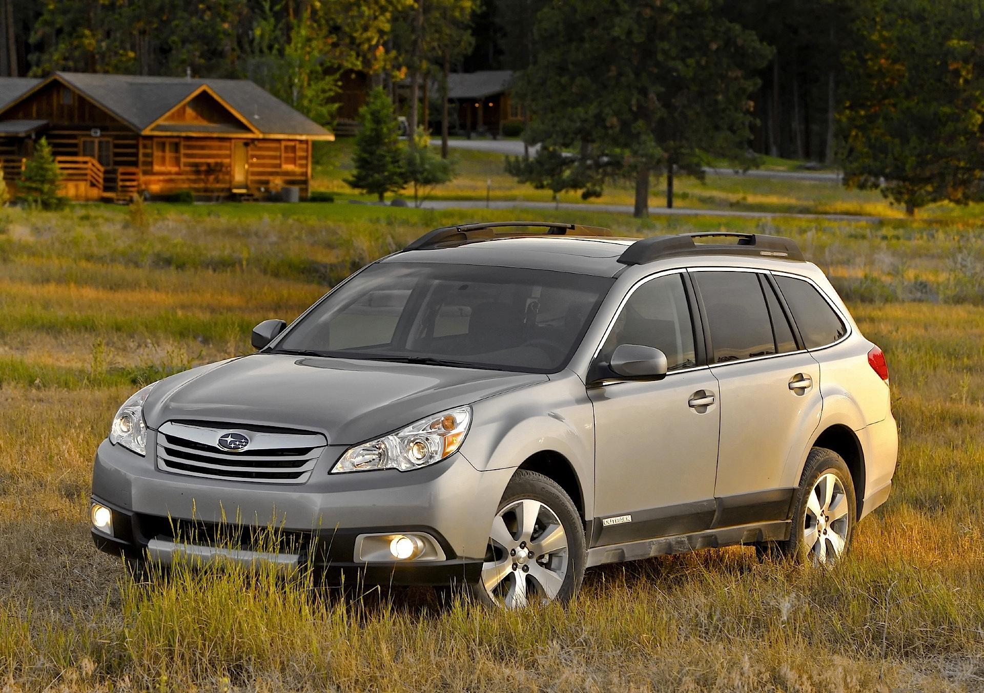 2009 Subaru Legacy Sedan and Outback Wagon |2009 Subaru Outback