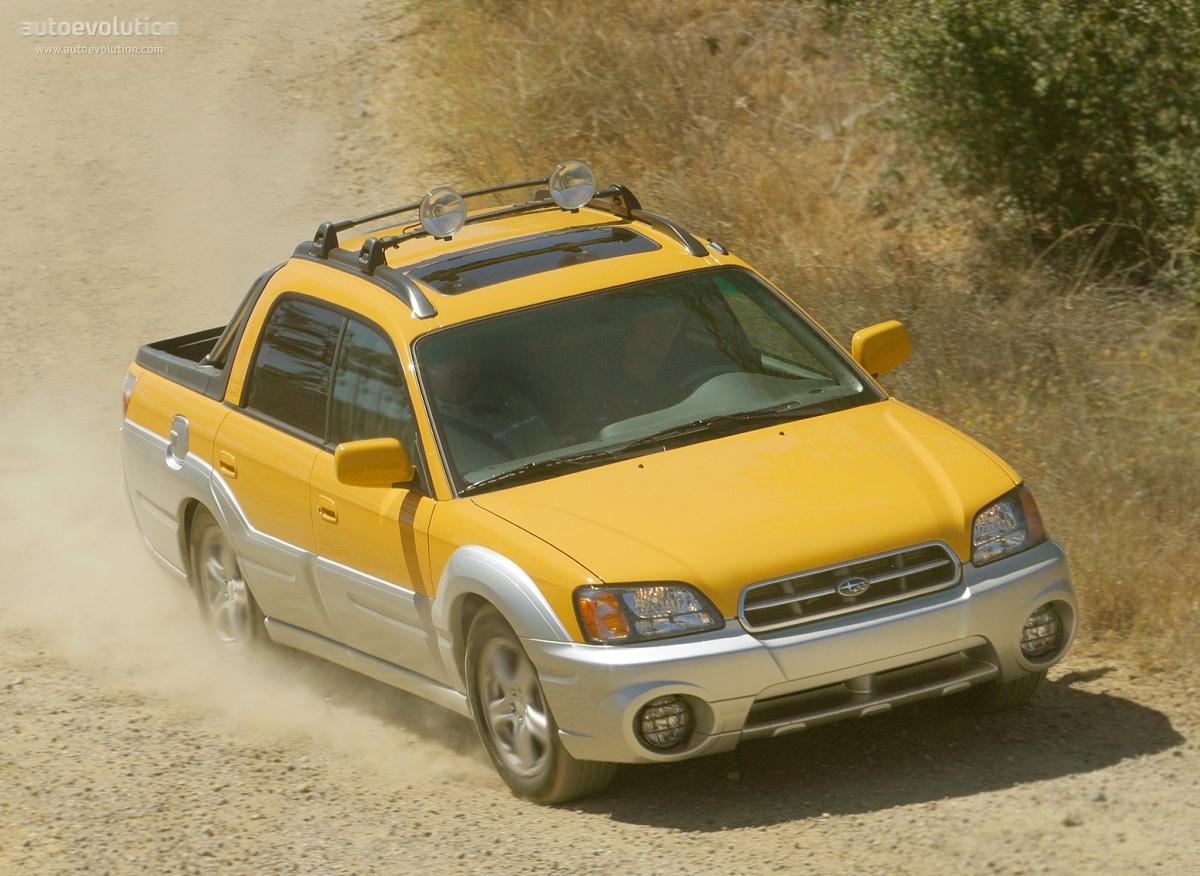 Subaru Baja Turbo >> SUBARU Baja specs & photos - 2003, 2004, 2005, 2006 - autoevolution