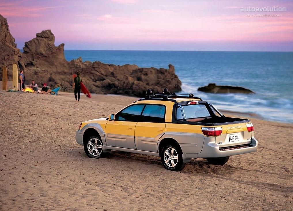 2003 Ford Explorer Sport Trac >> SUBARU Baja - 2003, 2004, 2005, 2006 - autoevolution