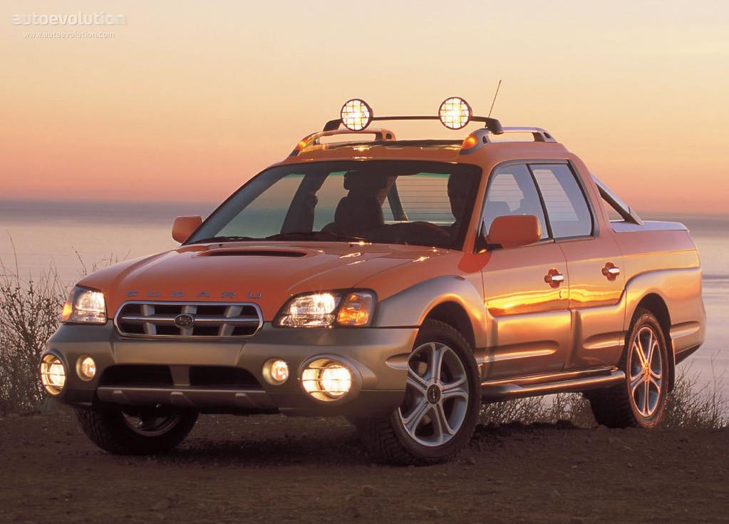 2005 Ford Explorer Sport Trac >> SUBARU Baja - 2003, 2004, 2005, 2006 - autoevolution