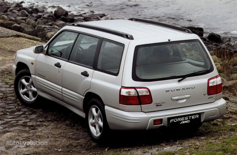 Subaru Forester 2000 2001 2002 Autoevolution