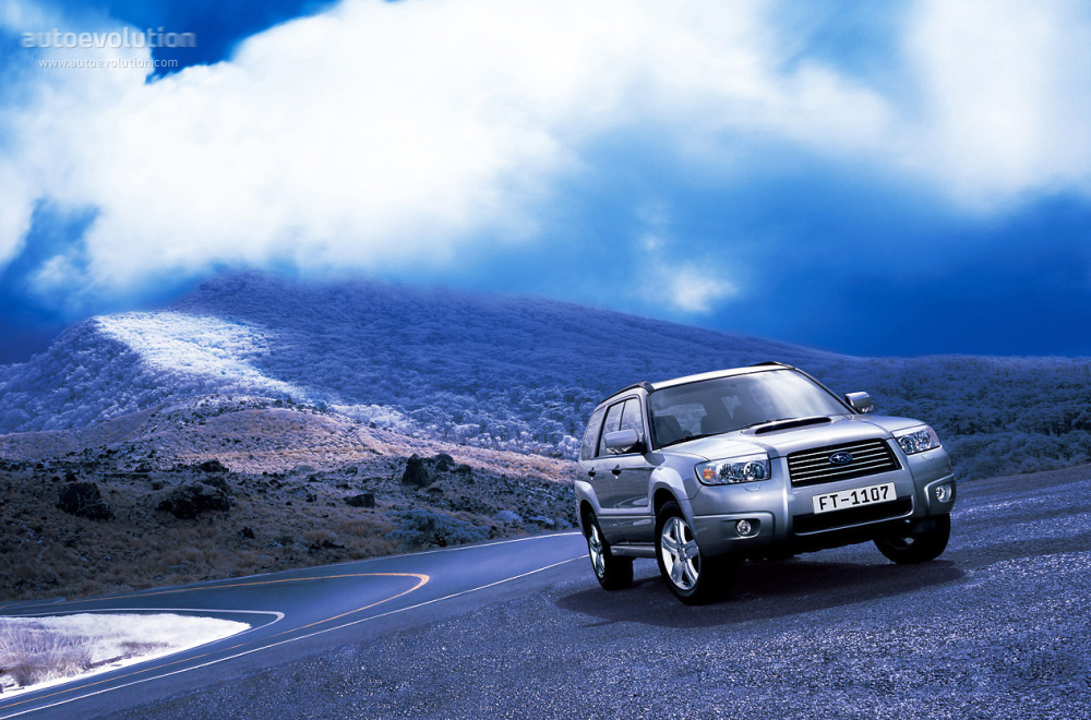 Subaru Boxer Engine >> SUBARU Forester specs & photos - 2005, 2006, 2007, 2008 - autoevolution
