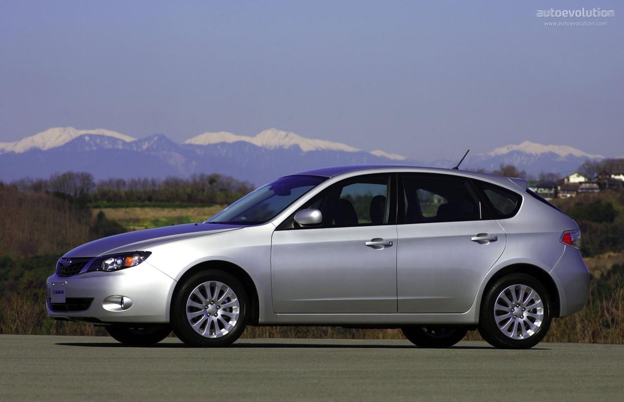 Subaru Impreza 2007 2008 2009 2010 2011 Autoevolution