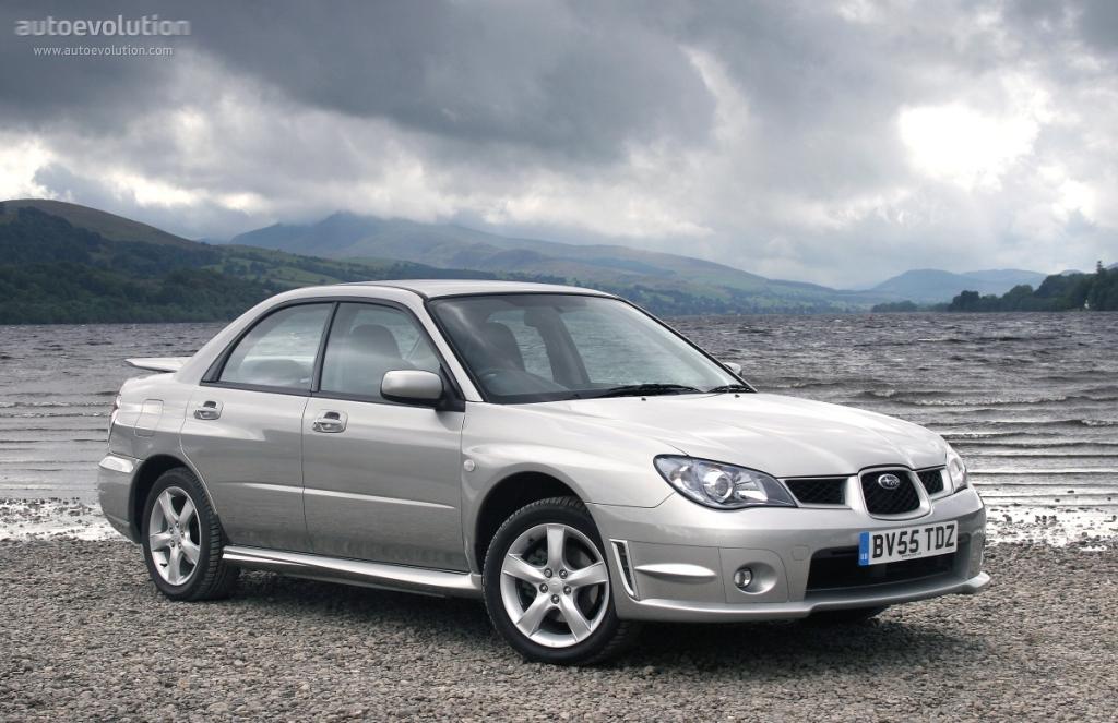 Subaru Impreza Specs 2005 2006 2007 Autoevolution