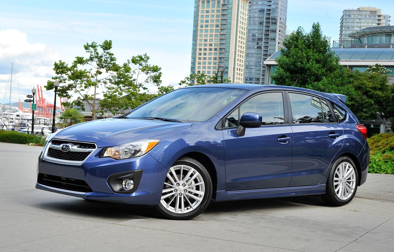 Subaru Impreza 5 Doors 2012 2013 2014 2015