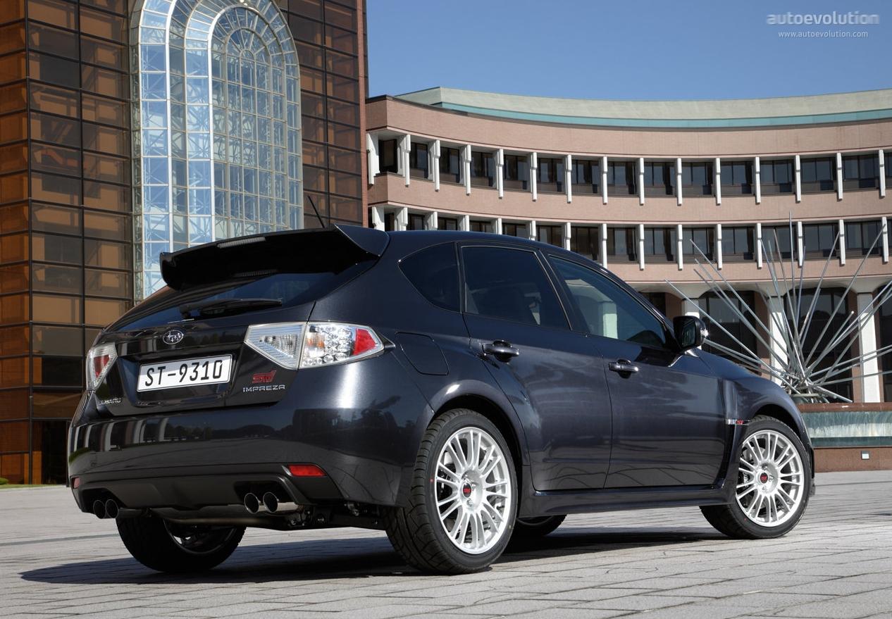 Subaru Impreza Wrx Sti 2008 2009 2010 2011 2012