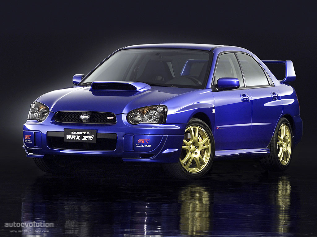 subaru impreza wrx sti specs 2003 2004 2005 autoevolution. Black Bedroom Furniture Sets. Home Design Ideas